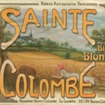 Sainte Colombe, Bière Blonde (bionda)