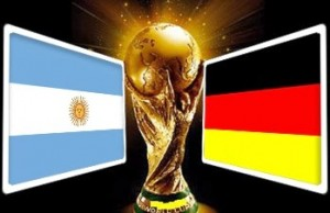 Germany vs Argentina world cup 2014 final