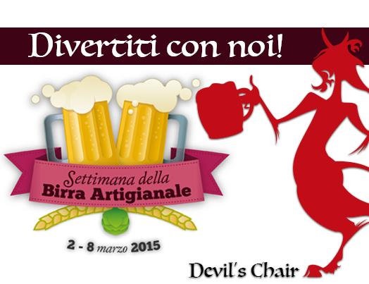 Settimana della Birra Artigianale al Devil's